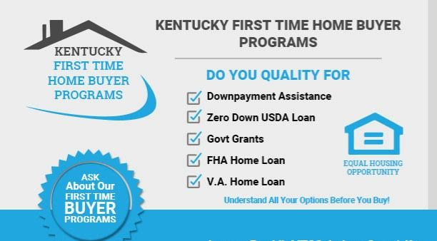 Down Payment Assistance Grants For Kentucky First Time Home Buyers