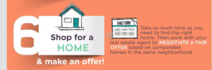 Never feel pressured to pay more for a house than you're willing borrow.