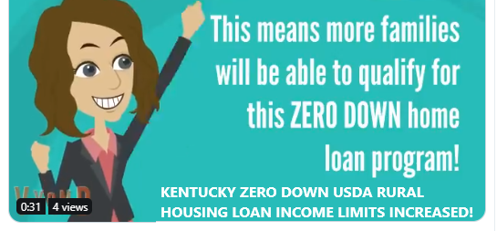 2020 income limits Kentucky Rural Housing USDA Rural Development Loans